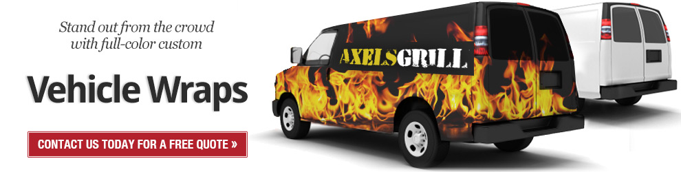 Stand out with Vehicle Wraps